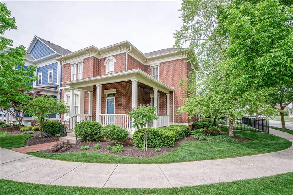 Stunning 4bdrm, 3 ½ bth Brick home in the Village of West Clay w/ wrap around front porch on a corner lot. Perfect location, close the parks & amenities.
