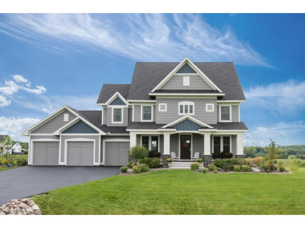 Gorgeous 2-story custom home. Beautiful finishes & attention to detail - white enameled millwork, solid 2-panel drs. 9' ceilings on main. Gourmet kitch w/SS Thermador appls, granite, marble, large island & more! Living rm w/gas fplc, coffered ceiling, huge window w/pond view. Master suite w/sitting area, walk-in & BA w/heated flrs. 3 other BRs also on UL. LL w/sport court, exercise rm, wine cellar, fam rm, 5th BR + BA. Large corner lot w/privacy! Nbrhd amenities - lodge, pool, paths & parks!