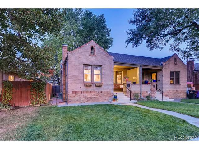 Image of property in 1532 Elm Street South Park Hill Denver CO