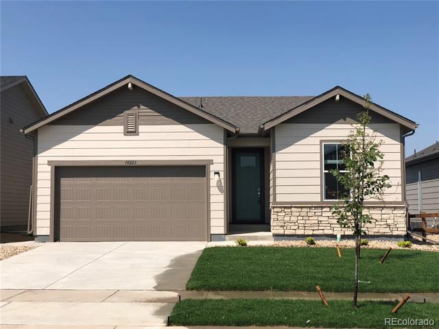 NEW 3 bed, 2 bath ranch w/ 3-car tandem garage. Wonderful open floor plan! Welcoming entry leads to the