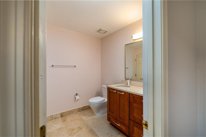 upstairs spare bedroom with Private Bath.