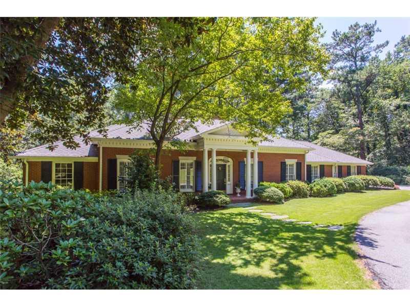 4010 NW Parian Ridge Road, Atlanta, GA 30327