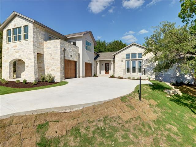 New Construction in Old Lakeway! Motivated Seller! This Lee & Barrier Builders' beauty has it all. Enjoy breathtaking lake views from the upstairs second living area, an over sized two car garage, level backyard and top notch finish outs. No detail has been overlooked...modern lighting, luxury hardwood & eye catching tile flooring, quartz counters and Thermador appliances, just to name a few. Don't take our word for it, come see for yourself!