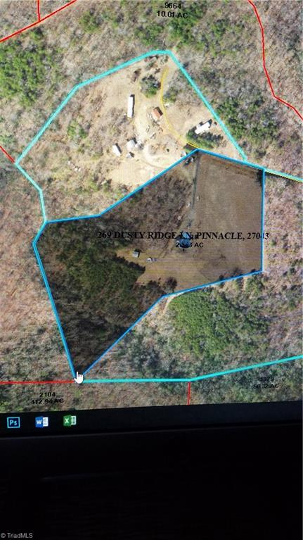18.53 acres and 2 mobile home rent properties with some fencing and multiple storage buildings.  Put in for comp purposes.  Sold with adjoining property. Original contract date 3/13