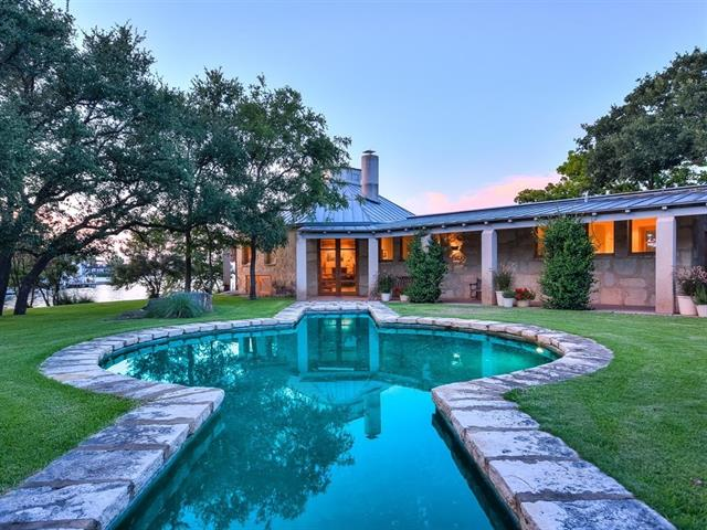 Featured on the cover of Metropolitan Home, this one-of-a kind Lake Flato designed 5 bed, 6 bath estate on the