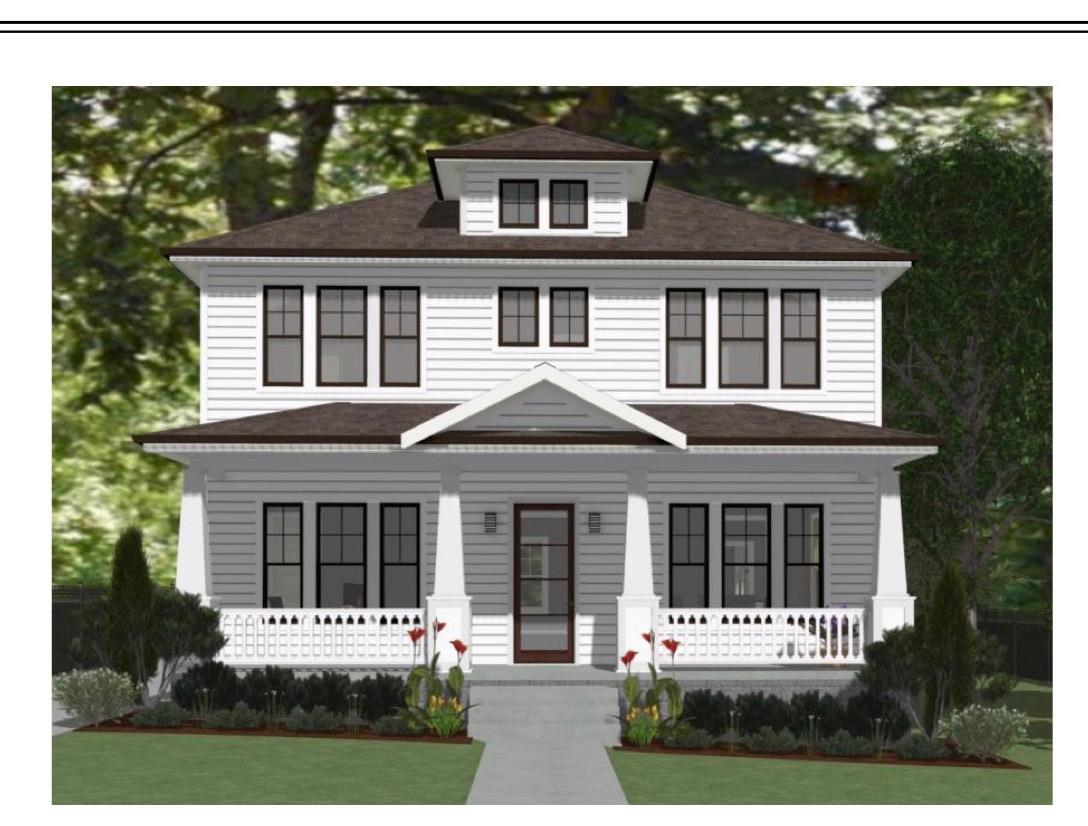 Custom luxury in the heart of Sylvan Park on extra wide lot! New Construction w/ 2 car detached garage, 10ft ceiling downstairs & 12 ft vaulted upstairs, 2 fireplaces, butler area w/drinks wetbar, walk-in pantry; Quartz countertops throughout; designer lighting+tiles; huge covered porch.
