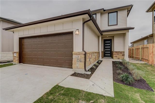 MLS# 2072318 - Built by Village Builders - March completion!! ~ The open light modern design is built for the active family featuring a large gourmet kitchen  with stainless steel appliances, beautiful cabinets and counter tops. Owner's suite has spacious  bathroom and  large walk in closet. Amber oaks offers low maintenance living in a premier convenient location. Part of Round Rock ISD. Near major employers, shopping, medical, parks and major thoroughfares...