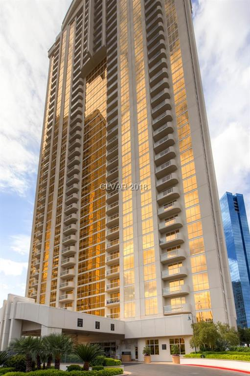 Tower 3 14th Floor! One Bedroom Corner Unit with Balcony and STRIP VIEWS! Snaidero cabinetry with granite countertops. Owner's pool/spa, lounge, gym, valet, concierge, 24-hr, guard gate/security & access to MGM Grand's amenities:  Pool/spa, casino and shopping.