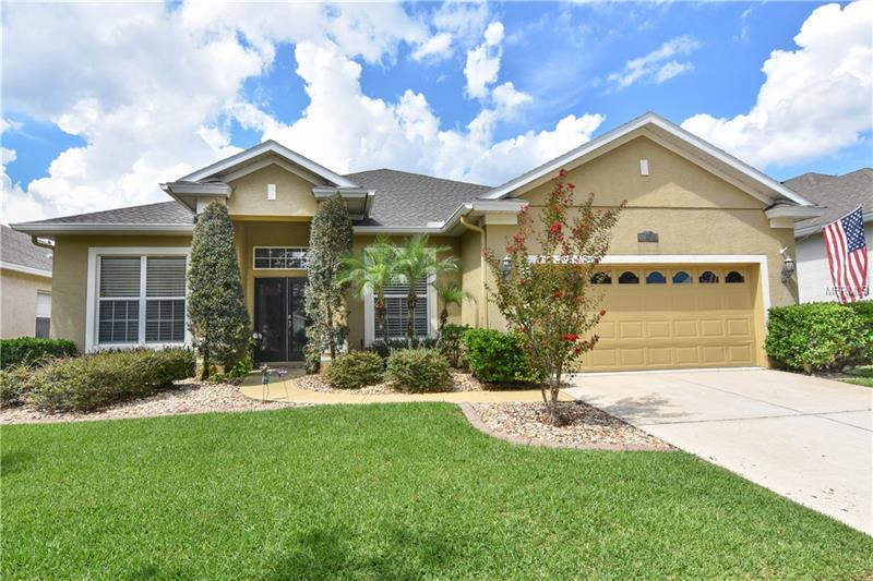 The list of upgrades is long for this elegant and spacious four-bedroom, three-bathroom home and includes new roof (2018), new water heater (2018), all new top-end stainless appliances (2017), and new solar heater (2018). The kitchen and bar have upgraded granite with glass and travertine backsplash. Crown molding runs through most of the house. There is a fully functioning wet bar in the house for your entertaining needs. The home is maintained to the highest degree possible, and benefits from a great interior layout. Flooring has been upgraded to mainly wood & tile.  Enjoy time on the inviting back patio and swim in the pristine pool. The landscaping is top-end and adds to the curb appeal. The list goes on for this great home. Enjoy all that Heathrow has to offer with Sawyer Park, BBQ areas, meeting rooms, country club, community pool, and proximity to local stores, I-4 and 417. Have your Agent schedule a private viewing, you will not be disappointed.