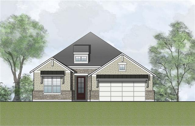 The Aubrianna is a new one-story plan that offers an open floor plan and designer upgrades. Featuring a gourmet kitchen with upgraded shaker cabinets and natural silestone counter tops, this home also includes hardwood flooring throughout, a luxurious owner's suite with large sitting area and an extended rear covered porch. A pocket office area off of the kitchen and a expansive laundry room with cabinets and utility sink completes the home.