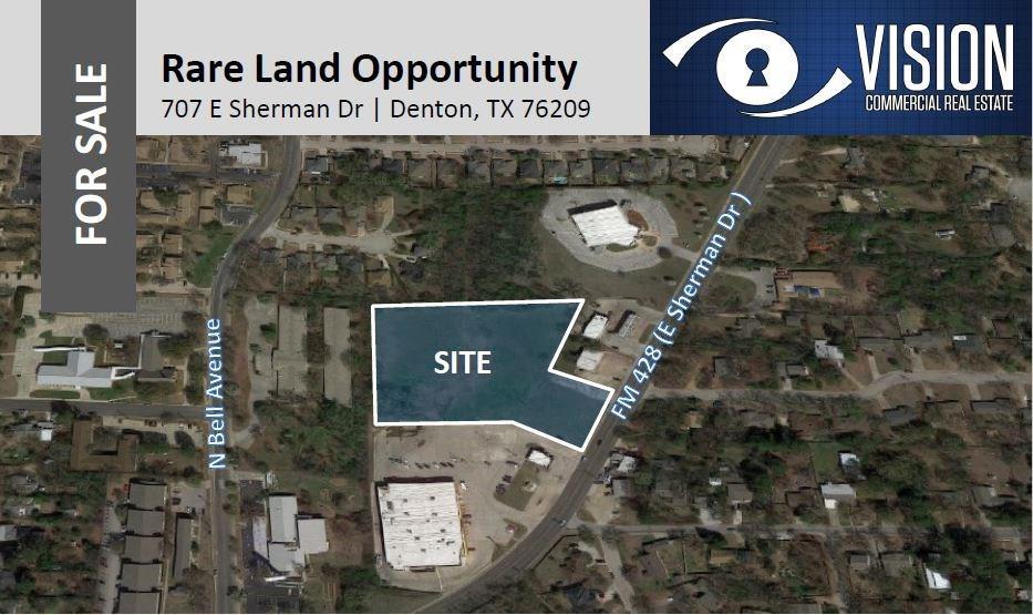 707 E Sherman Drive, Denton, TX 76209