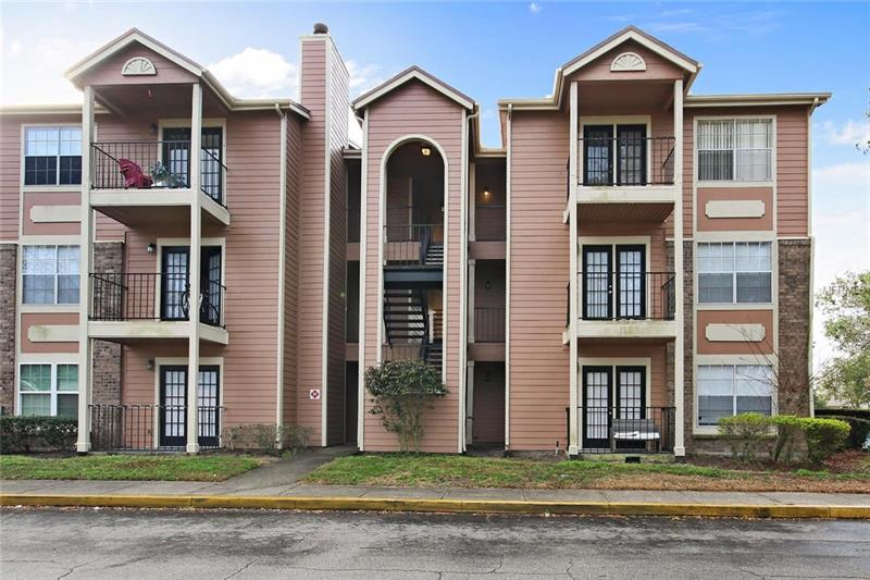 Live a lifestyle of comfort, convenience, and community. This beautifully maintained condo features a spacious bedroom with its own private bath. **MODERN UPDATES include NEW PAINT (2017), UPDATED FLOORING AND CEILING FANS (2013)**. The kitchen offers plenty of cabinet space, **UPDATED LIGHT FIXTURES (2016)** and overlooks spacious living room/dining room combo. Allow the warm Florida breezes in through your lovely french doors that lead to your balcony. Waterford Landing boasts a plethora of amenities which include a fitness center, community pool, a racquetball indoor court, and a pier. **HOA includes water, sewer and trash pick-up!**This is a great investment home and in an ideal location, perfect for a UCF student. Nestled in the highly desired Waterford Lakes area and only a mile away from UCF, this is the perfect place to call home!
