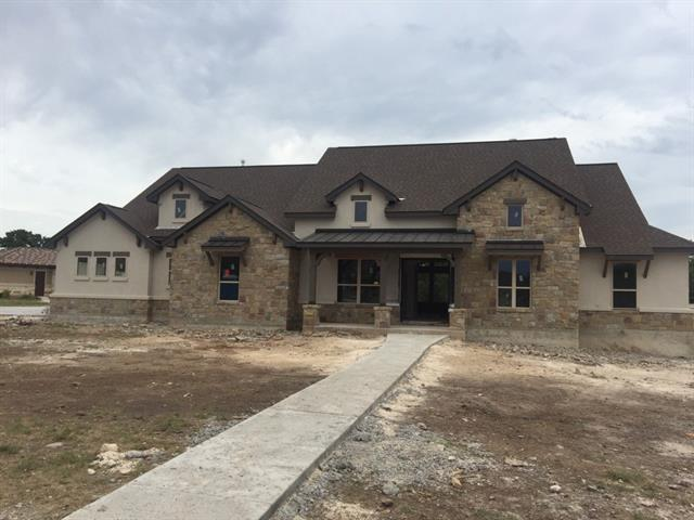 Award winning Ashby Signature Homes in private, gated community nestled moments away from Russell Park with quick access to Lake Georgetown.  Generously designed 4 bedroom, 3 bath, 3 car garage home with soaring ceilings will be ready mid to end of June. Amazing landscaping package is coming soon!