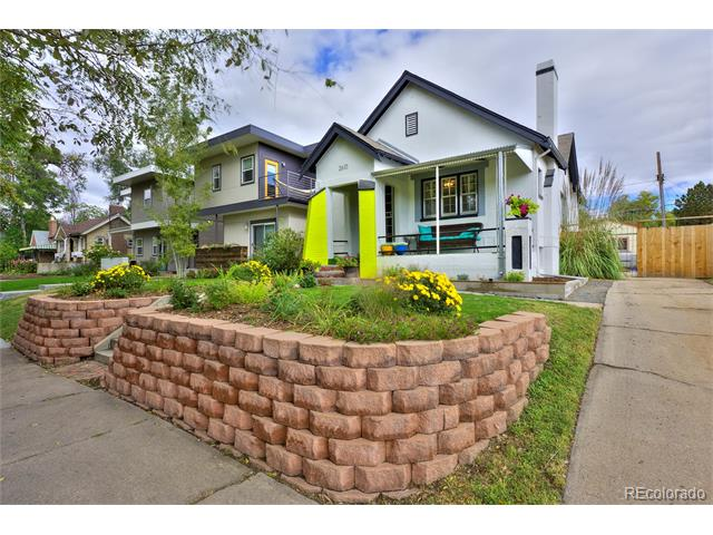 This image is a house in 2610 North Josephine Street City Park Denver CO