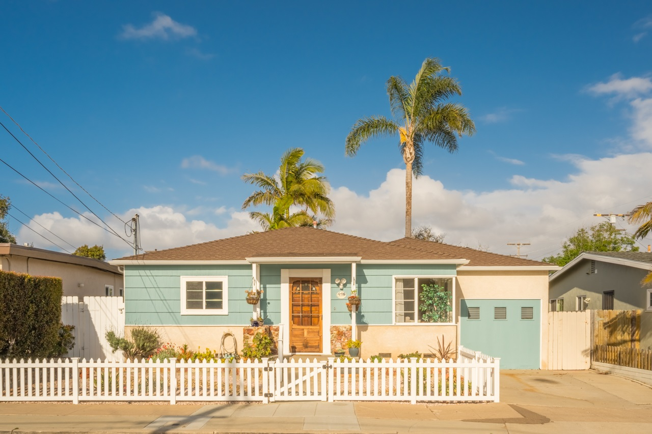 Ultimate Ocean Beach home! 1,520 square foot home w/3br & 2 ba.  Enjoy the comfort of two great living spaces living rm & great rm that opens up to large back yard. Yard has combination of turf, decking, hardscape, lovely landscape & hot tub. Kitchen recently remodeled with all new appliances, counters, bar, full back splash, refinished cabinets & lighting. Garage converted to work room/media can easily be converted back to 1 car garage.  NEW HVAC unit & NEW SOLAR SYSTEM paid for! Front new vinyl fence.This home is only 6 blocks to the beach. Greene St  is a nice wide street with lots of off street parking.  Several improvements through out the home please see attached list. Move in ready!