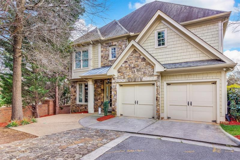Highest & Best Offers due 1/25/18 @ 3pm EST. Don't miss this incredible home in Mendenhall, a wonderful gated neighborhood! Top-rated Montgomery ES, new Peachtree Station anchored by Whole Foods & easy access to interstates are only a few reasons to call this house your home! Redesigned kitchen feat stacked stone, SS appls, island w/wine fridge, undercabinet lighting & pot filler; wide-plank hardwoods on main; built-in bar in living rm; oversized master with lg sitting area as potential 4th bedrm. Fully fenced backyard & deck w/ portico wired for speakers, outlets & TV!
