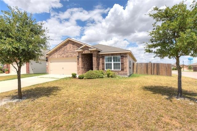 Great Home with Open Concept, Granite Counter Tops in Kitchen ,  Wood Floors, Corner Lot with large Fenced In Back Yard with a Covered Patio, This Home is Ready to Move Into. Most of all Furnishings are for sale.