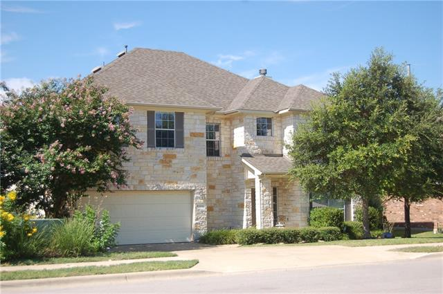 Enjoy all Cedar Park has to offer in this gorgeous updated 4 bedroom home that backs up to a beautiful green belt! This 3216 sq ft home is 2 story with all the bedrooms upstairs. This residence includes laminate wood flooring, updated kitchen, guest and master bathrooms and a unbelievable master closet! The AC is only 2 years old. You won't believe how peaceful and private the back yard is.