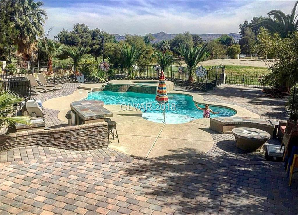 GORGEOUS, 5 BR/5BTH 3750 SQ.FT. SINGLE STORY HOME. HUGE FAMILY ROOM W/FIRELACE. BEAUTIFUL KITCHEN W/ GRANITE COUNTERTOPS; BRKFST BAR; PANTRY & DINING AREA. HUGE BACKYARD BEAUTIFULLY LANDSCAPED W/ POOL & SPA; BUILT-IN BBQ. OVER 18,500 SQ.FT LOT. GARAGE HAS BEEN CONVERTED INTO A STUDIO.