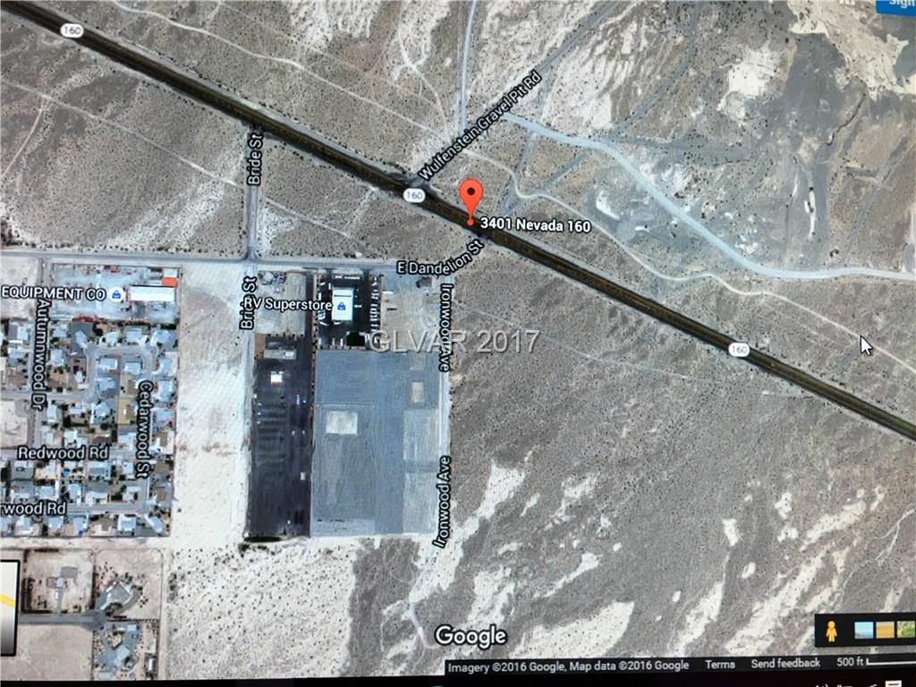 3401 N Nevada Highway 160, Pahrump, NV 89011