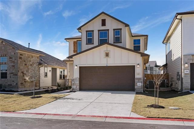 MLS# 6531523 - Built by Village Builders - Ready Now! ~ Spaciousness, sophistication and energy efficiency is what you have in this beautiful home.  Incredible open entertaining area on first floor. Large kitchen with prep island, stilestone counter tops. Covered patio and private backyard to enjoy.  Great location, excellent Round Rock School System. Incredible value all the way around! Come by now while there's still an excellent selection from which to choose!!!
