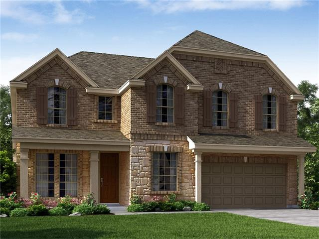 Brand NEW energy-efficient home ready NOW! The unique Everest features a workshop space in the garage that can be converted into a study, a formal dining room, cozy fireplace and enough space in the laundry room for a deep freeze. Located near Dell Diamond, Forest Creek Golf Club, & the Round Rock Premium Outlets for endless entertainment. Known for their energy-efficient features, our homes help you live a healthier & quieter lifestyle while saving thousands of dollars on utility bills.
