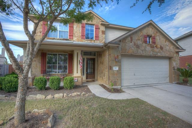 One of a KIND in desirable Whispering Hollow & short walk to Elm Grove Elem. Gorgeous home on almost a .25 acre lot. No carpet downstairs~tile through entry, dining, kithcen & gleaming handscraped wood floors in living rm, Master & staircase. Master has bay window & bath has double sinks w granite counters & large walk in closet. Kitchen has Expresso cabinets, granite counters & tile back splash. Spacious bedrooms & living room upstairs plus a HUGE Media room. Covered patios & extended deck. A MUST SEE!