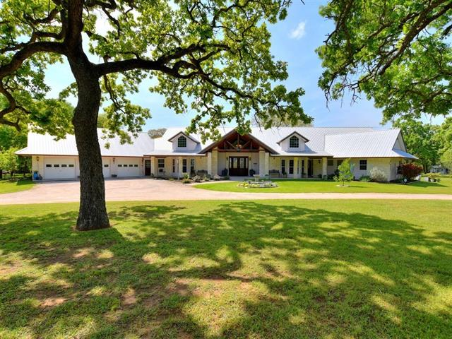An amazing Custom Stone home on 17+ acres in Thorndale! Conveniently located near Hwy 79. Country living at it's finest with a wraparound driveway with great curb appeal. Full length front covered patio. Great open floor plan with high vaulted open beam ceilings with a floor-to-ceiling stone fireplace. Huge open custom kitchen with maple cabinets and an oversize center island. Two offices. A massive covered back patio with Oak & Hickory trees and gardens throughout. Including a green...