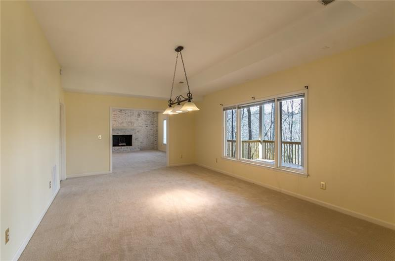 Full finished terrace level with space for exercise area or media room!