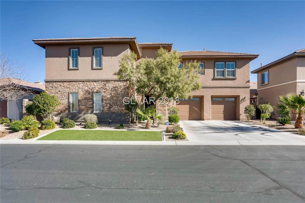 """Honey stop the car.. This Immaculate 5 Bedroom home is located in the beautifully gated community of Anthem Highlands * The love and care that was given to this move in ready home is a must see * Interior + Great room & kitchen with Top of the line stainless steal appliances + Courtyard + Oversized backyard w/sparkling pool & covered patio *  the Master Suite is w/bonus room-Gym * All guest rooms upstairs * the Casita is the 5th Bedroom * WOW*"