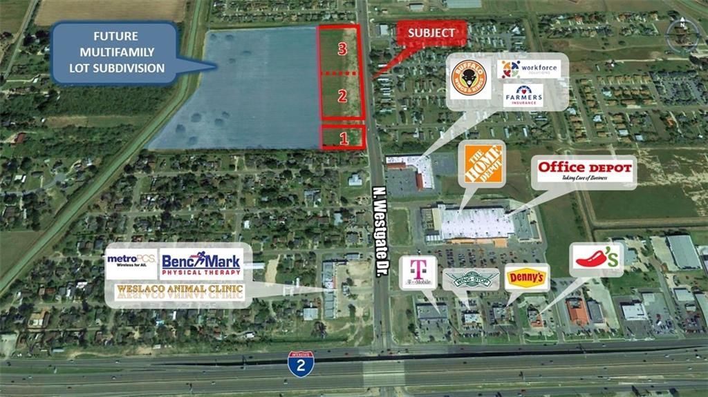 002-3 N Westgate Drive, Weslaco, TX 78596