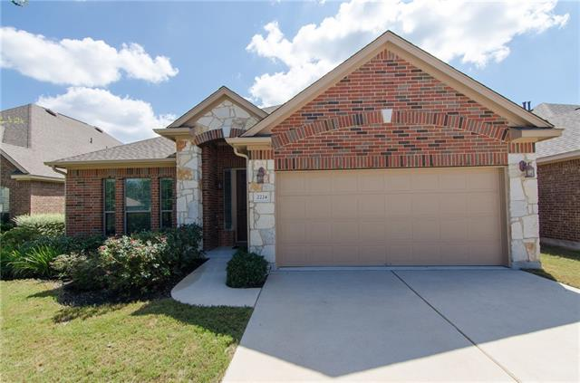 This popular Silver Leaf floor plan by Taylor Morrison has 4 bedrooms and 3 full baths.  The 2 living areas and the kitchen that is open to the dining room and family room make this a very user friendly home.  There are hardwood floors and ceramic tile on the main level, and carpet only in the upstairs bedroom.  Beautiful crown molding are in all the living areas.  There's a greenbelt behind this home, which makes it very private with a covered patio.  One owner home.