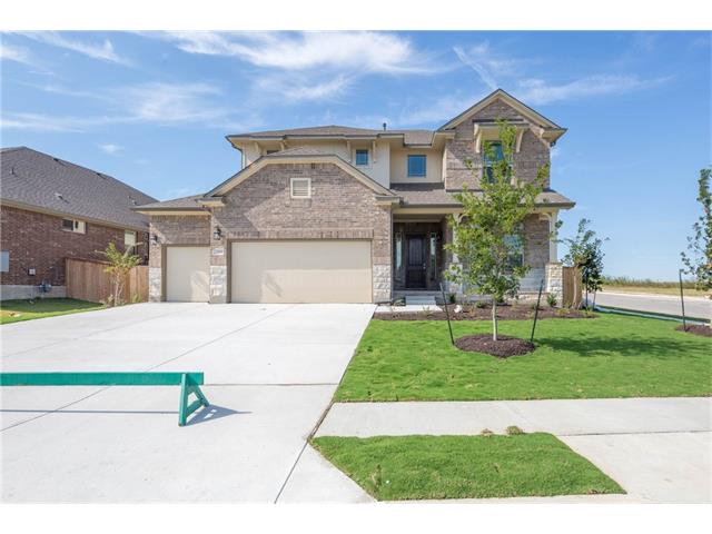 Remarkable Chesmar Home on a corner lot equiped with a 3rd car garage!  This floor plan is equipped with so many high end finishes like high ceiling foyer 5 bedrooms, 2 kitchen islands, 4 fullbaths, oversized game, walkin attic storage, covered back patio, and LED lighting throughout.  Drop in tub in Master with built-in seat in shower.  Built-in appliances.  Front bedroom has private bath with stand up shower.  Great home won't last.
