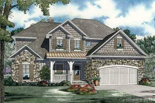 """New construction """"To Be Built"""" on premium flat, level, wooded lot! Fantastic 4 bedroom, 3 1/2 bath,  2 car garage with open floor plan, spacious bedrooms and bonus room. Owner's suite on 1st floor! Abundant hardwoods on main. Caromark Building Group is a local, established builder focused on listening to their clients needs and strives to exceed each customer's expectations and ensure satisfaction at all times.  This is only a rendering of what can be built. Many floor plans to choose from. Actual house may be different from what is shown. Call agent for details."""