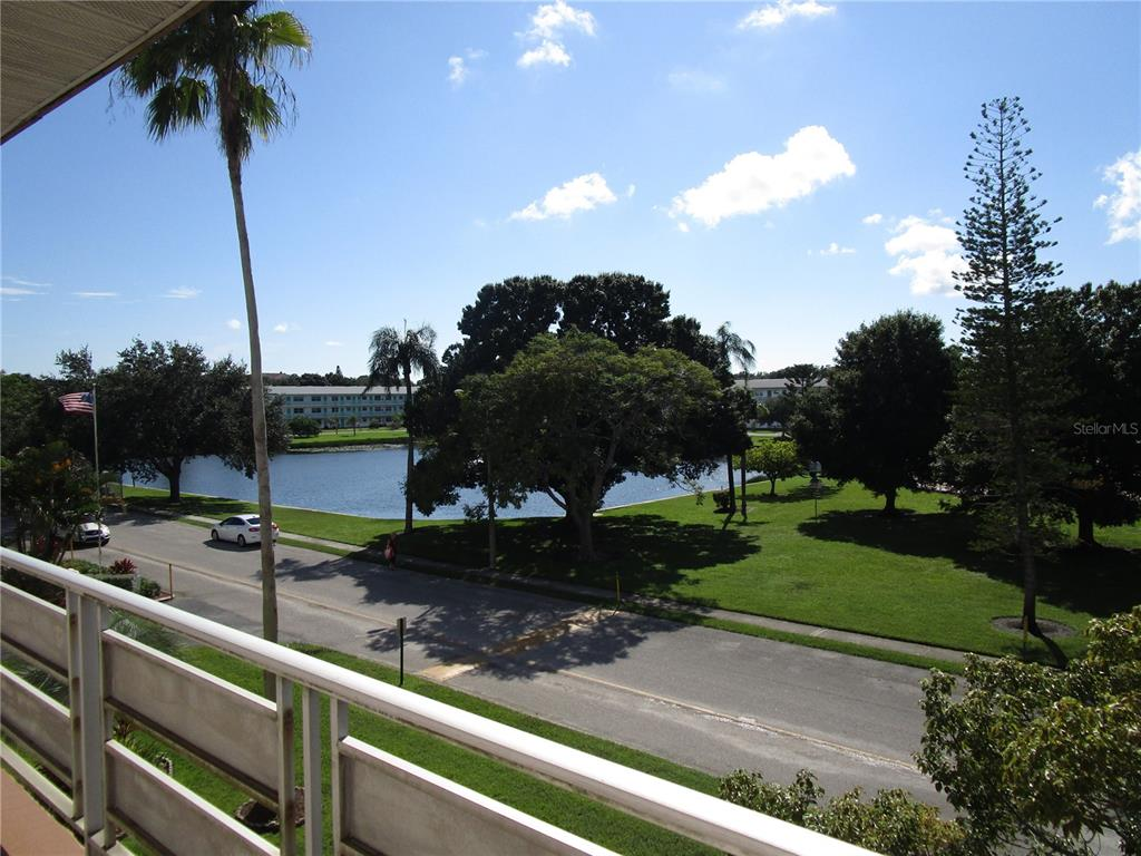St. Pete's Best Kept Secret! WATERFRONT! 1BR/1Bth on 3rd Floor of Park Building.  Real nice condition.  Laminate flooring in Living Room, Dining Room and Bedroom.  Tile flooring in Kitchen, Bathroom, Hallway and Florida Room.  Fully applianced Kitchen with pull out drawers and granite countertops.  Tiled Bathroom with walk-in shower.  Carport parking right out back!  Front entry has beautiful gardens for your relaxing enjoyment.  Monthly maintenance of $351.00 includes gas, water & sewer, cable, trash removal, exterior maintenance, insurance, security & management. Extremely affordable living! This community has it all. Heated swimming pool, Recreation Center and Owners meeting room, shuffle board, cornhole, card games, Friendship Club and dancing. Holiday dinners with entertainment. Very well maintained community. Community is walking distance to shopping, restaurants, etc. and on bus line. Minutes away from airports, interstate highways and Downtown St. Petersburg. No leasing; no pets. 55+