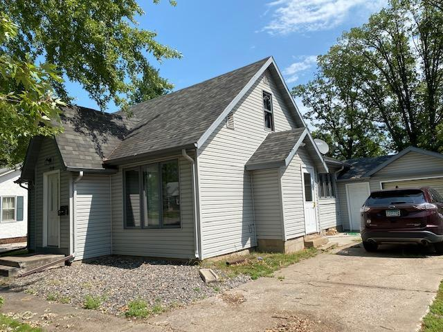 Charming in town home has large rooms, updated electric, newer windows, newer flooring, roof & newer appliances. The lower level can boast a full sized sauna & shower; upstairs has been used as bedroom space, you will love the privacy fenced back yard with attached garage. This home is immaculate!