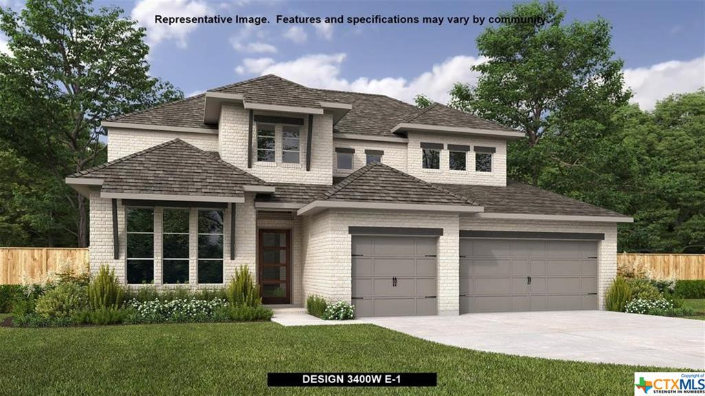 Perry Homes New Construction! Front porch. Home office with French doors frames the two-story entry. Island kitchen features a large pantry, built-in seating space and opens to the morning area. Two-story family room features 19-foot ceilings, a wood mantel fireplace and a wall of windows. Private primary suite with a wall of windows. Primary bath features dual vanities, garden tub, a separate glass enclosed shower and two large walk-in closets. Game room, media room and secondary bedrooms including a guest suite complete the second level. Extended covered backyard patio. Three-car garage.