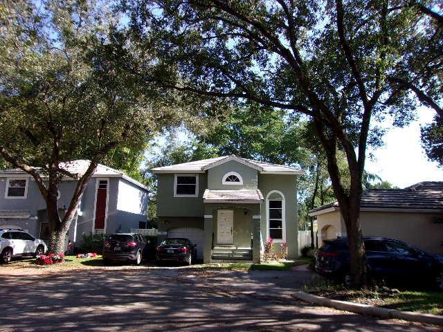 LOCATED IN SOUGHT AFTER CENTRAL PARK AREA OF JACARANDA.  THIS HOME IS LOCATED IN A CUL-DE-SAC WITHIN WALKING DISTANCE OF THE COMMUNITY POOL.  KITCHEN WAS REMODELED FOR A MORE OPEN LOOK WITH WOOD CABINETRY AND CORIAN COUNTER TOPS.  FIRST FLOOR HAS LARGE NEUTRAL TILE. FLOORING UPSTAIRS (EXCEPT BATHROOMS) IS HAND SCRAPED ENGINEERED BAMBOO WITH NEW BASEBOARDS. UPSTAIRS GUEST BATHROOM IS REMODELED WITH A NEW $5000 BATH FITTER TUB AND CONCRETE WALLS.   A/C REPLACED APRROXIMATELY 1-2 YEARS AGO.  GARAGE HAS NEW EPOXY FLAKE FLOOR.  CAN BE RENTED IMMEDIATELY.