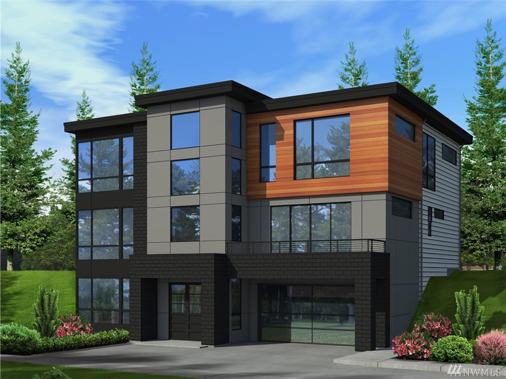 Pre-sale opportunity! Murray Franklyn presents a fresh new contemporary look, blocks from downtown Kirkland & Park. Modern, open-concept flr plan w/dramatic 3-story, light-filled foyer. Main flr great rm w/steel-accent fireplace adjoins gourmet Chef's ktchn w/ Wolf/Sub-Zero appliances, waterfall island & opens to signature outdoor living rm w/fireplace, 4 skylights & heaters. Luxurious master w/spa-inspired bath. Guest suite on main. Den w/view deck. Huge recreation rm w/café bar. 3-car garage.