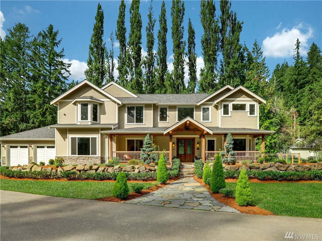 Lux Living & Privacy awaits you-within minutes from Redmond! Builder's own 4 BD/6 BA Custom on 2.57 acres.  This beauty exudes resort-styled living including expansive entertaining areas, Main Floor Guest Quarters w/Full Bath, Sports Room w/Wet Bar, & stunning Chef's Kitchen boasting an 11ft Island! Radiant heat, air-conditioning, Douglas Fir Timbers, Media Room, Gym, and a sumptuous Master Suite highlight this home's savvy amenities! We look forward to your visiting soon for a tour of this gem!
