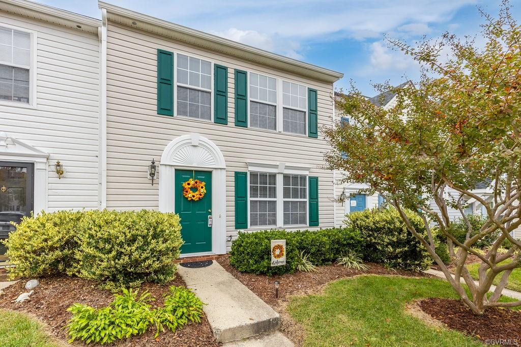 Beautifully renovated move-in ready two (2)  story middle unit townhome in the coveted subdivision of Sussex Wood in Henrico's desirable Far West End! Fresh paint, new carpeting & floors and so much more make this a MUST SEE on your list! Generous sized rooms in this modern chic 2 bedroom, 2.5 bath home that was built in 1996. New owner will enjoy low Henrico country taxes! Check out the recent 2020 improvements: stainless steel refrigerator, oven/stove combo, stunning granite countertops, all new flooring, garbage disposal, hardware. Other upgrades include hot water tank (2017), roof (less 5 years old). Two assigned parking spaces outside the front door. Enjoy outdoor gatherings with your own private deck off family room! Oh and did we mention the gas fireplace in the family room!!  Detached shed for garden tools and bikes. Full size washer & dryer. Come take a look at this super clean, move-in ready recently updated townhome!