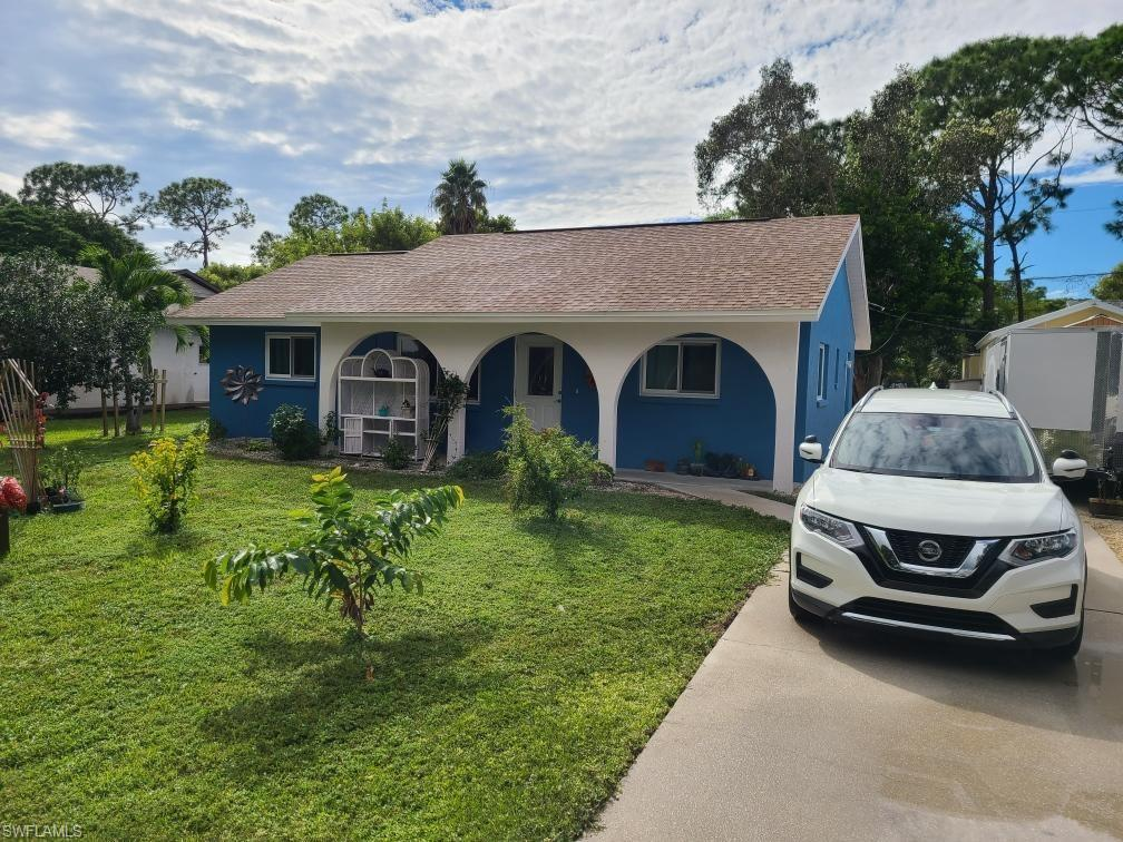 """COMPLETELY REMODELED, affordable 3 bed 2 bath concrete block home! This very efficient floor plan is the ideal combination of comfortable usable space everywhere while keeping your taxes and insurance costs lower than most homes. Brand new impact windows and doors are beautiful, energy efficient, and cost saving. New Vinyl """"wood look"""" tile throughout, ALL QUARTZ counter tops in kitchen and baths, out of same slab, newly painted inside and out, new ceiling fans, electric sockets, appliances, and water system were just installed by the owners. The roof is from 2010, so no hurry to replace that. Owners installed a new 15x17 patio pad ready with 12x12 footers for your future screened lanai in the back yard. But hold on! A BRAND NEW 12x24 separate building WITH AC AND SEPARATE ELECTRIC PANEL  for your man cave or she shed! Or oversized work shop. Plus you still have a 12x12 utility shed for your yard tools. Plenty of parking for your RV or boat, or both! Look at that roomy backyard too, perfect for your pets or children and partially fenced for you. You just have to come and see before this home is sold!"""