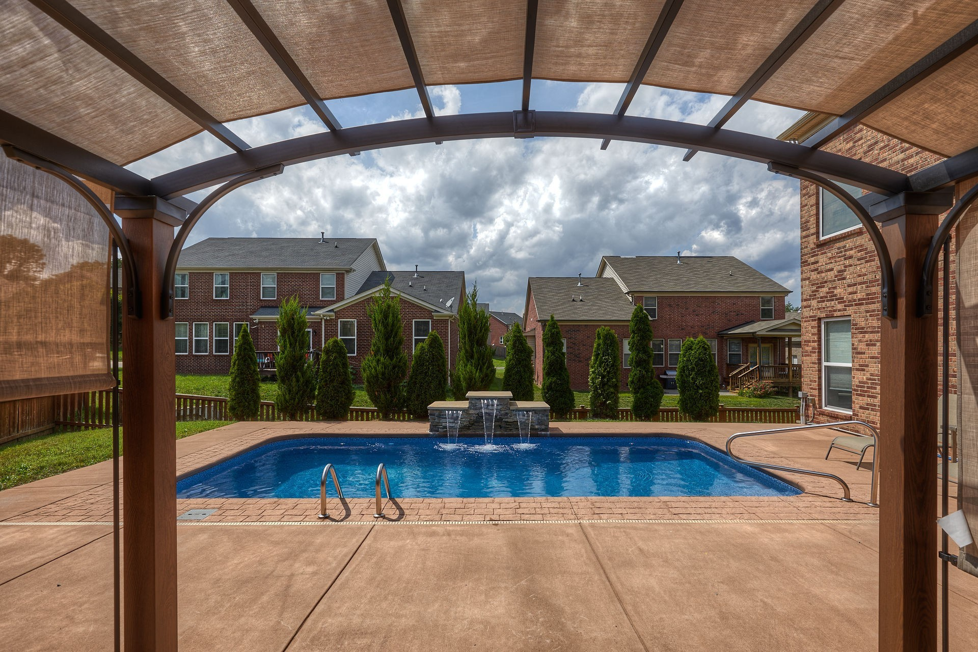 """This all brick 4,500 square foot home has it all. In ground pool, Hot tub, Even an underground shelter!! 5 bedroom 3.5 baths. Security system with many cameras throughout. NAHB """"Green Building"""" Certified. Pre-wired for sound, On Q Power home technologies with built-in USB outlets.  **See more info in photo descriptions"""