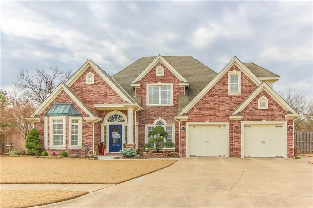 Stunning custom built home with an oversized cul-de-sac lot, in West Norman! This home has been well kept and is a true 4 bedroom with a dedicated office, a formal dining room, downstairs master suite with tray ceilings, a bonus room that could be a theater or a game room, and a craft room with large closets (potential 5th bedroom). The upstairs bathroom is connected to the hall and one of the bedrooms.  You will love the hardwood floors, the gorgeous open staircase, vaulted ceilings, and impressive woodwork throughout the home.   The kitchen has built in appliances, a pantry, a great island, and a breakfast nook that overlooks the patio and backyard.   Schedule your tour today!