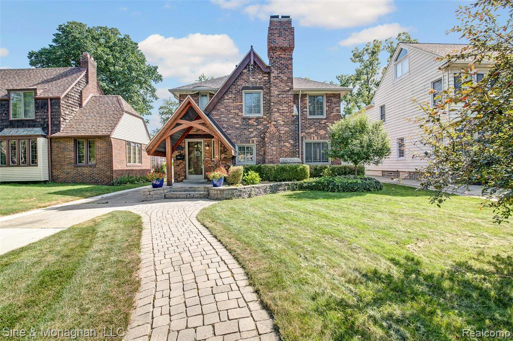 This is where you want to be!! Walking distance to the Village on street that is one of the most sought after locations in Grosse Pointe.  Great place to raise a family and take advantage of an incredible school system. This English Tudor has great character offering hardwood floors throughout and generous space for entertaining. The backyard has a quite sitting area and lots of extra space. Not included in the square footage is s seasonal room that could be converted to a year round for extra living space.  Newer roof, windows, boiler and central air.  This won't be on the market for long so see it soon or you'll miss out.