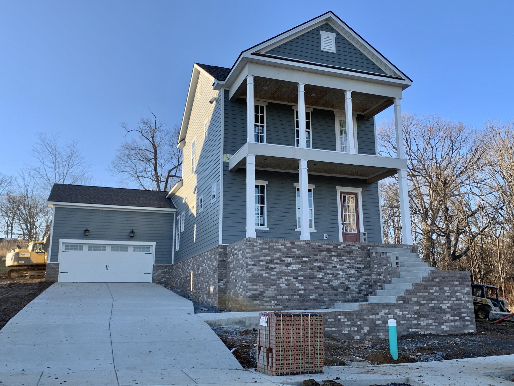 Double Balcony, Master Down, Gas Fireplace, Covered Back Porch