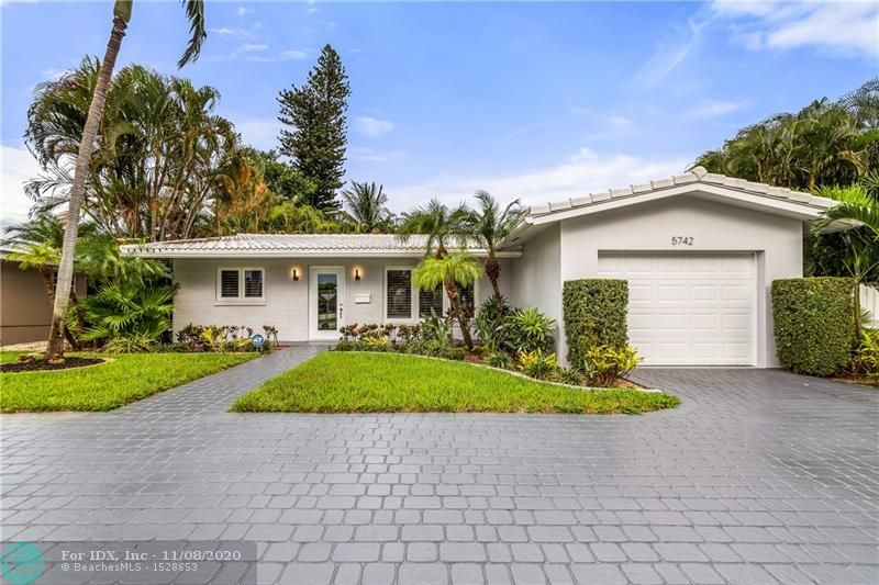 Fully Updated 2 Bed/2 Bath home on quiet corner lot in Coral Ridge Isles. House has large den/bonus room that could be used as an extra bedroom. Tropical backyard with pool is perfect for relaxing and entertaining. Impact windows installed in 2019. Updated kitchen with granite countertops and stainless appliances. Move-In Ready!