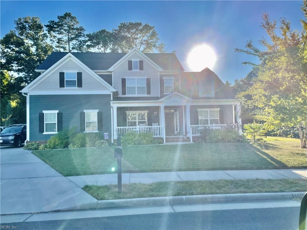 Gorgeous well maintained 5 bedroom 2.5 bath home in highly desirable location in Va Beach. This home was custom built by KIRBOR Homes for these original owners as well as the lot being considered a large premium lot.  Home is move in ready!