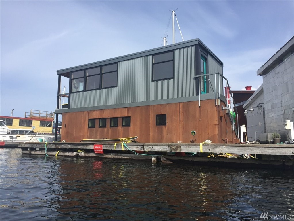 Feel like you are on vacation every day in this floating two story Houseboat. In leased slip. Enjoy the daily parade of rowers, sailboats, yachts, eagles. Great seat to the Seattle Fireworks shows. Near Burke-Gilman trail, Gas Works Park, Fremont, UW, Ballard and close to downtown. Remodeled in 2017 with environmentally friendly materials. Very low maintenance exterior. Newer steel hull. Gated dock access. Onsite marina manager. Secure mail/package delivery. Private parking. FOWR permit