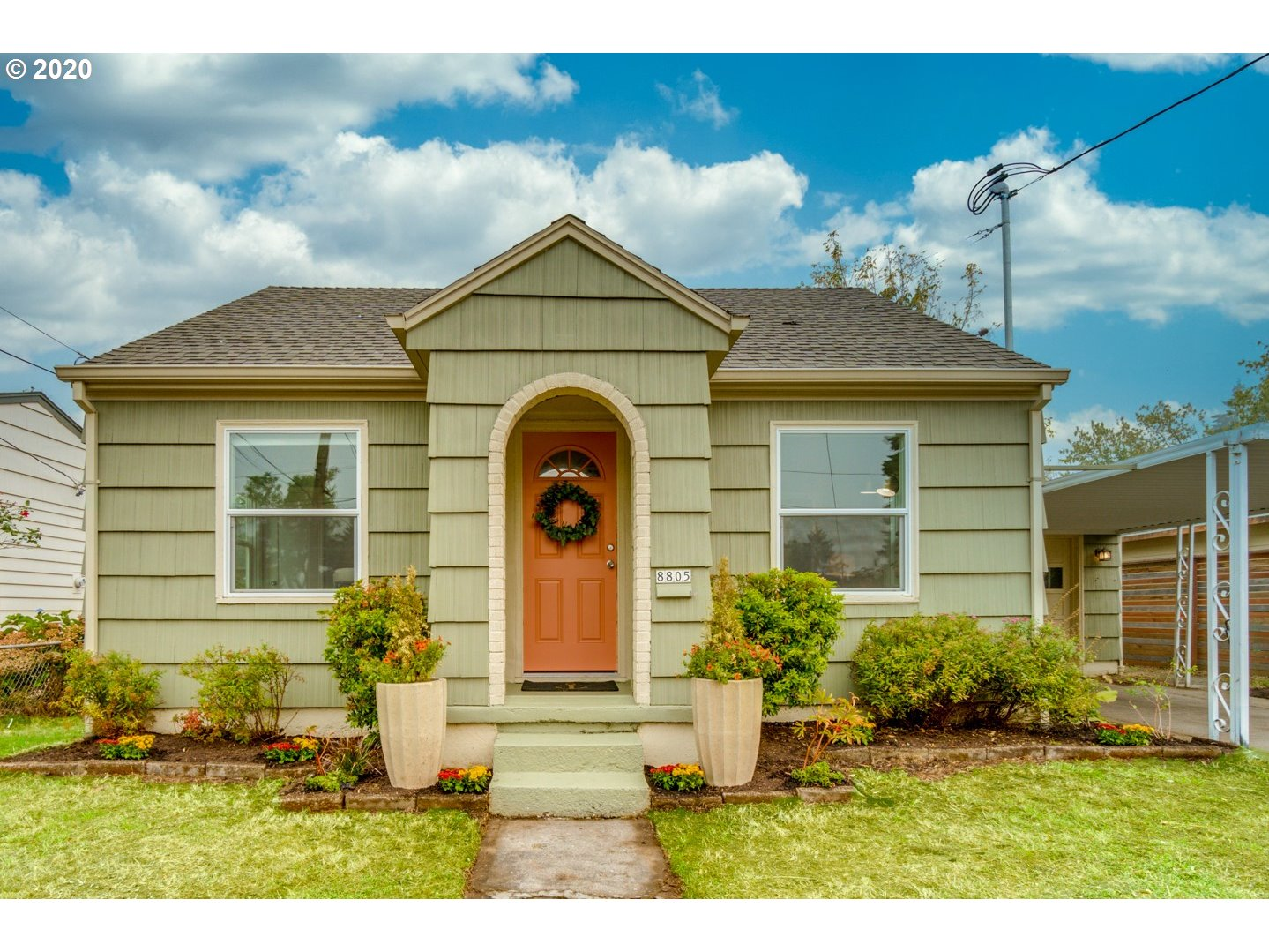 Tastefully renovated, turnkey home with a large backyard in Montavilla! Newer roof & windows, remodeled kitchen and bath, hardwood floors & tile throughout the main level. Tons of light in every room, with a huge bonus area upstairs! 88 Bike Score! Attached oversized garage with laundry area. [Home Energy Score = 4. HES Report at https://rpt.greenbuildingregistry.com/hes/OR10186909.pdf]